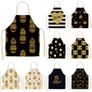 Cooking Apron In Bronze Design Is A Must Buy