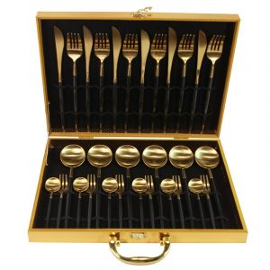 Gold Cutlery Set: Gift Of Perfection