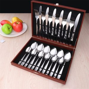 Cutlery Set Of 24 Pieces Is Ideal For Your Dinner Table