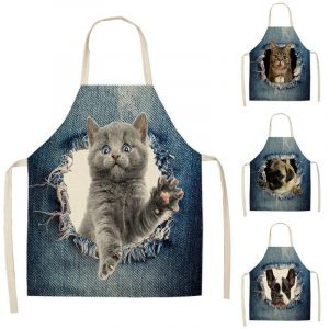Cooking Apron With Funny Prints