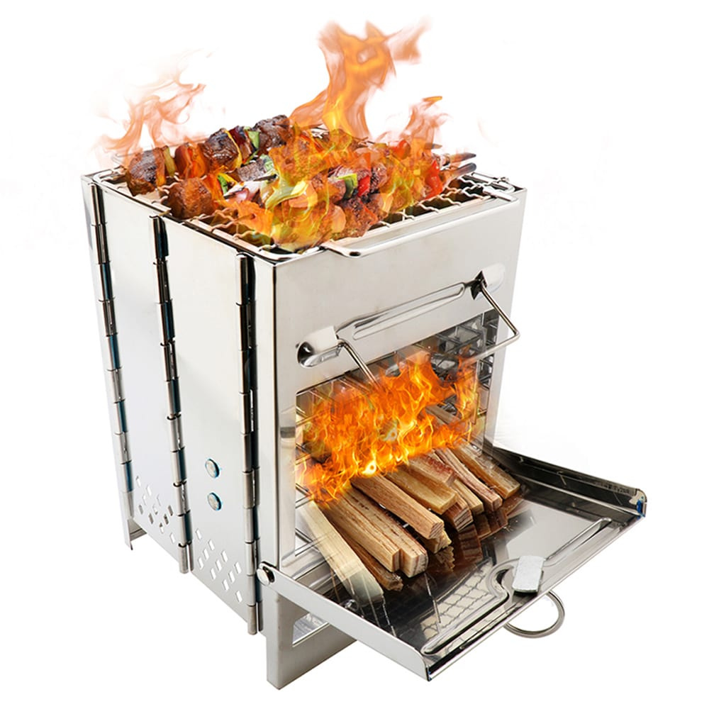 Wood Burning Stove: Appliance For Outdoor Cooking