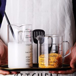 Glass Measuring Cups: For Right Measurements