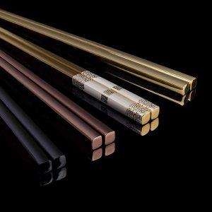 Metal Chopsticks Stainless Steel Tableware