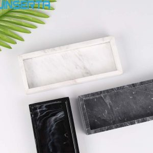 Marble Tray: Convenient Multiple Usage Tool