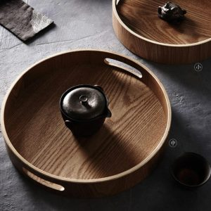 Wooden Tray: The Perfect Round Platter
