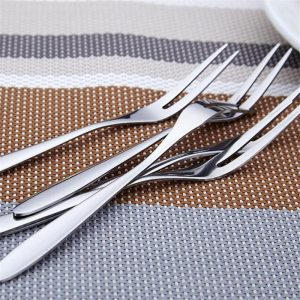 Fruit Fork: Stainless steel And Durable