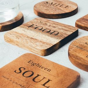 Cup Coaster: With Beautiful Quotes