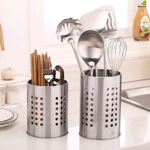 Stainless Steel Cutlery Drainer For Everyday Use