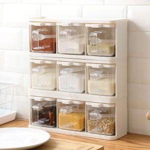 Awesome Condiment Containers For Fashionable Kitchens