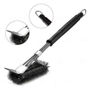 Bbq Grill Brush: Ideal For Cleaning Barbecue