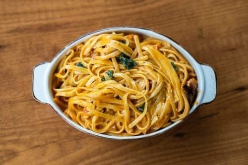 Fettuccine Carbonara: That You Can Prepare With Only Four Ingredients
