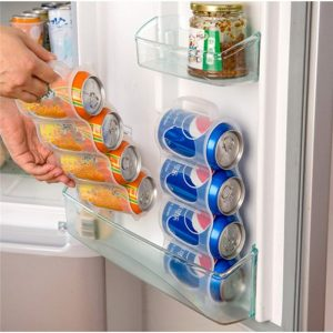 Can organizer For Space Saving In Fridges