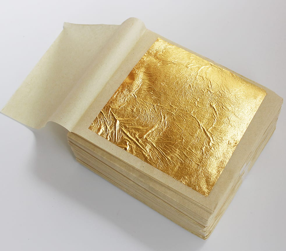 Edible gold sheets For Cake Decoration - ForeFood
