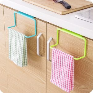 Towel Hanging Rack Kitchen Organizer Accessory