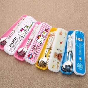 Fashion Tableware Cutlery Cookware Set For Kids