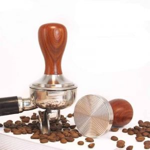 Flat Ripple Base Tamper As An Excellent Coffee Maker