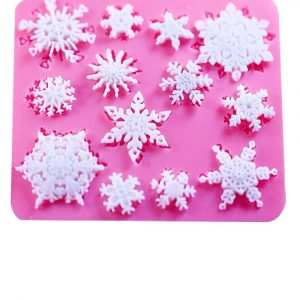 Christmas decorations mould