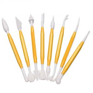 Jagged Edge Spatulas For Your Fondant Icing Sculptures