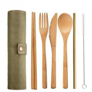 Bamboo Cutlery Set- A Nice Touch To Your Dining Experience