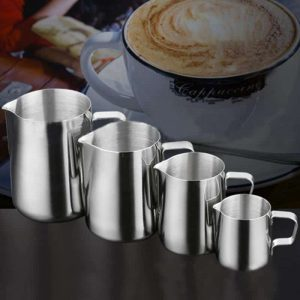 Milk Cream Cup Stainless Steel Froth Pitcher