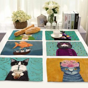 Kitchen Dining Accessories: For An Artistic Placemats