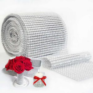 Cake Wrap Crystal Ribbons For Fabulous Decor