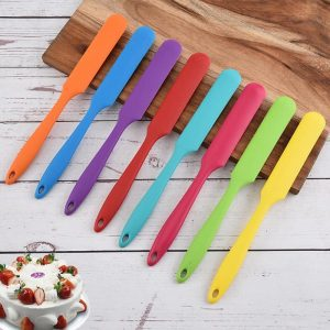 Cookie Pastry Scraper Colorful Silicone Bakeware