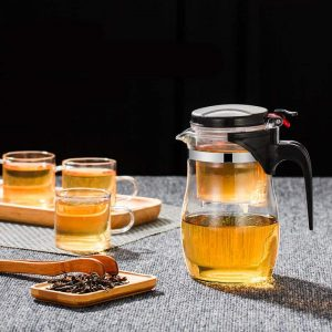 Heat Resistant Glass Tea Infuser: Your Ideal Tea Strainer