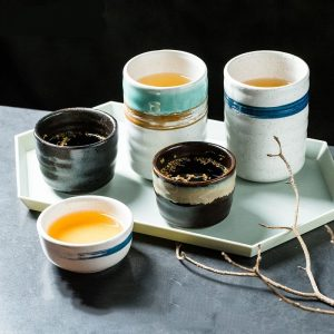 China Porcelain Tea Cups: A Chinese Retro Style Cups