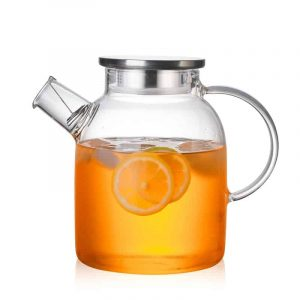 clear juice container
