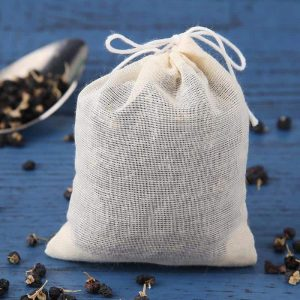 tea bags with string