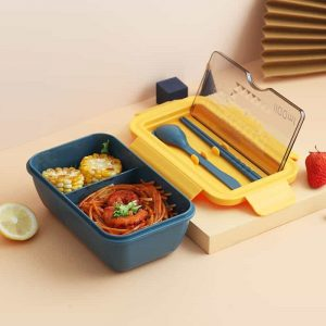 2-layer Food Container: Insulated Bento Box