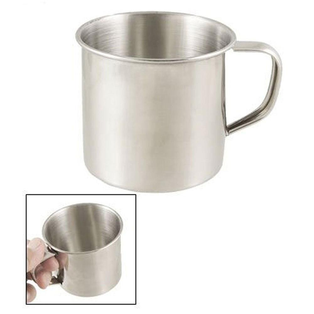 Bar Tool Coffee Cup Water Bottle Tea Mug Water bottle Outdoor Camping Hiking Tea Mug Cup Stainless Steel Coffee Cup Office School Gift Useful Kitchen Tools