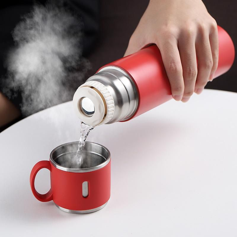 Thermos Cup Cup Travel Insulated Cup Bottle Cup Stainless Steel Insulated Keep Cool Thermos Cup Bottle Vacuum Flasks Thermos Double Wall Insulated Cup