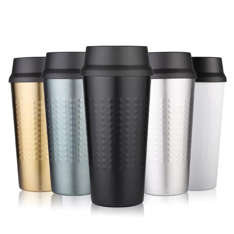 Water Bottle Thermal Mug Vacuum Cup Insulated Bottle Stainless Steel Vacuum Cup Thermal Mug Thermos Bottle For Tea Coffee Mug Insulated Bottle Portable