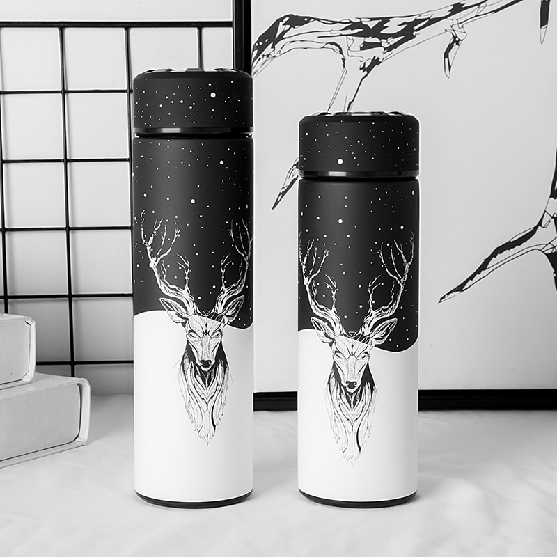 Travel Cup Outdoor Cup Vacuum Flask Bottle Container Thermos Bottle Vacuum Thermo Cup Stainless Steel Vacuum Flask Insulated Bottle Container Travel Cup