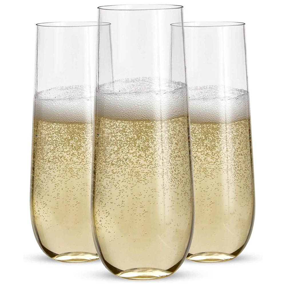 Glasses Bar Wedding Party Party Supplies Champagne Cup Handleless Plastic Champagne Cup Breakproof Shatterproof Disposable Glasses Wedding Supplies