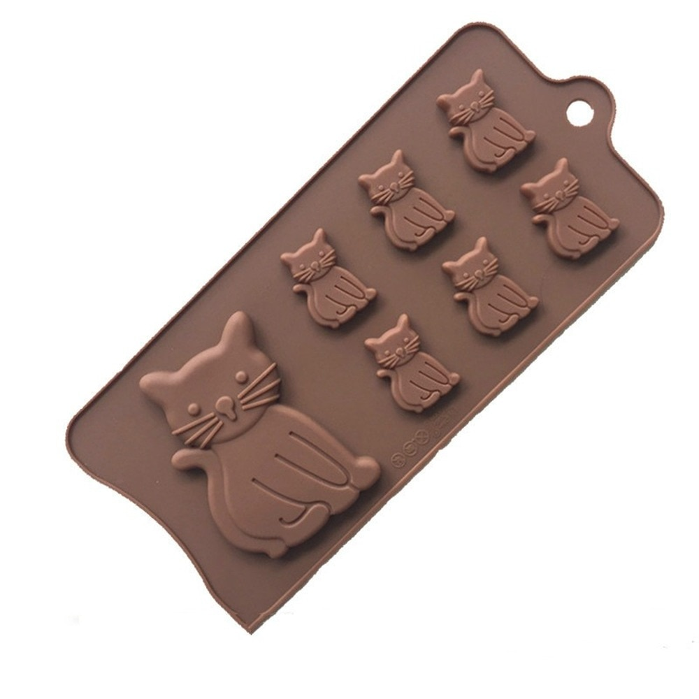 Bakeware Cake Baking Mold Mold Cake Kitchen Tools Chocolate Molds 3D Cat Shape Silicone Bakeware Cake Baking Mold Cake Decoration Tool Kitchen Tools