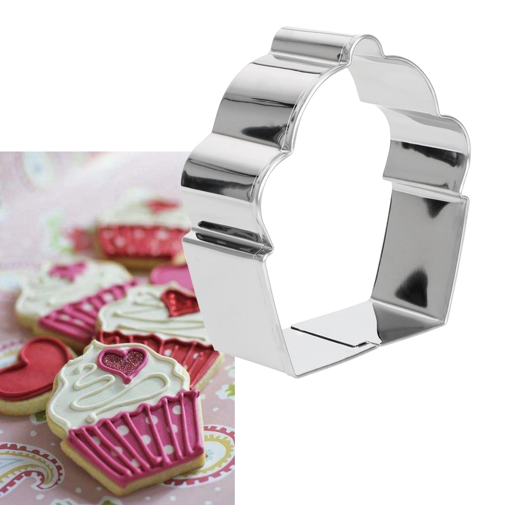 Cake Mold Baking Mold Cookie Cutter Cake Decorating Cookie Cutter Biscuit Cake Mould Decorating Brand Cutters Cupcake Shape Stainless Steel Fondant Mold