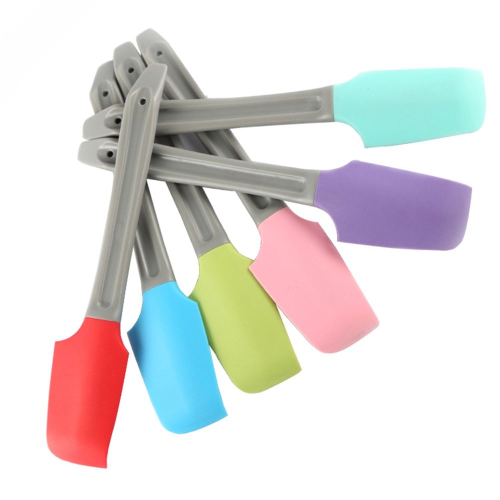 Baking Tool Food Can Cream Butter Cake Spatula Kitchen Silicone Cream Butter Cake Spatula Mixing Batter Scraper Butter Mixer Food Jar Mixing Baking Tools