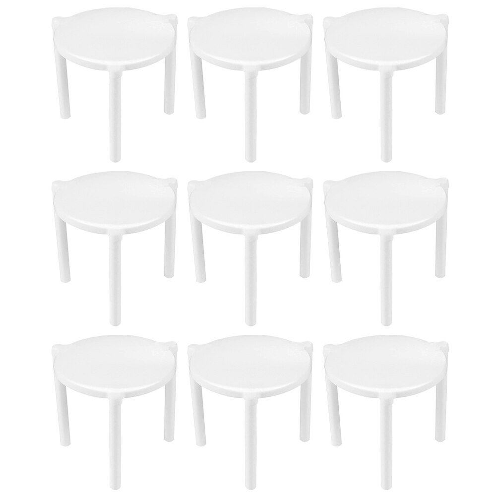 Fixing Rack Pizza Stand Pizza Holder Pizza Rack Two Hundred Pieces Pizza Saver Stand White Plastic Tripod Stack Fixing Rack Pizza Holder Bakeware Gadgets