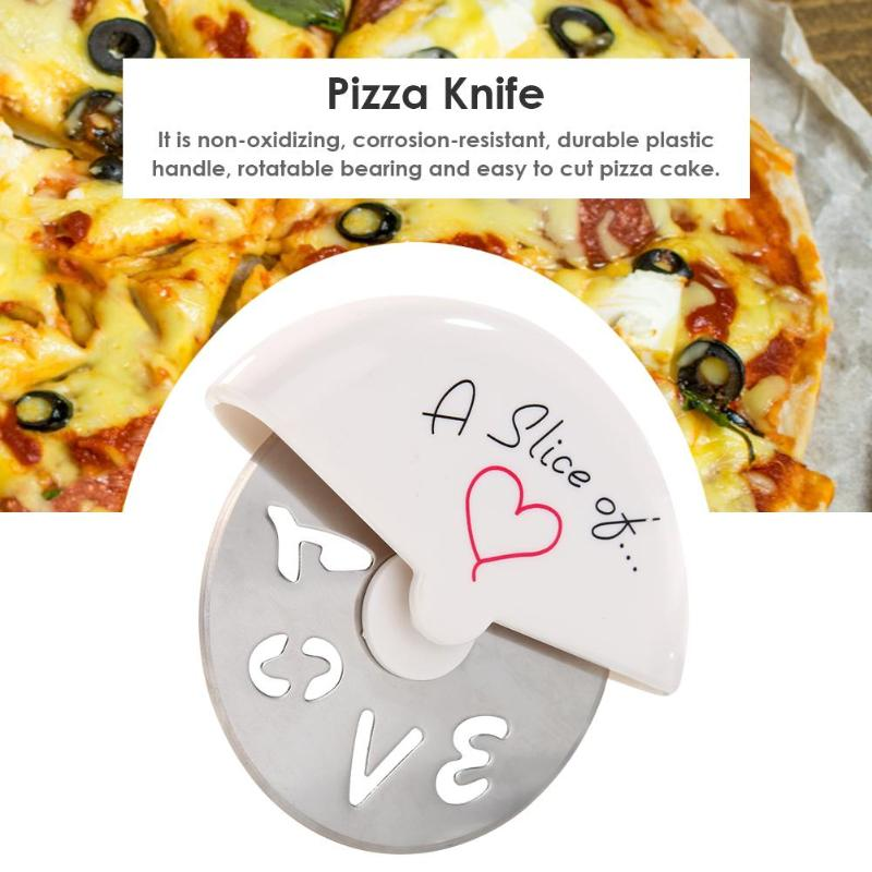 Baking Tools Pizza Knife Pizza Tool Kitchen Tools Pizza Knife Cutter Home Family Stainless Steel Pizza Knife For Pizza Tool Home Kitchen Baking Tools Wheels