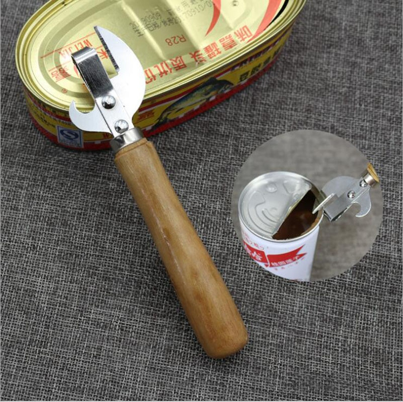 Kitchen Tool Can Opener Bottle Opener Metal Can Manual Metal Can Opener Side Cut Stainless Steel Bottle Opener Kitchen Tool Professional Kitchen Tool Safety