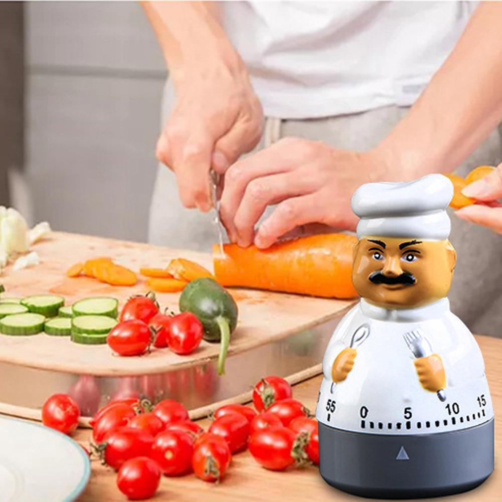 Kitchen Knife Baking Tools Kitchen Timer Chef Timer Kitchen Knife Fork Chef Timer Dial Alarm Plastic Clock Electronic Cooking Kitchen Timer Assistant Clocks