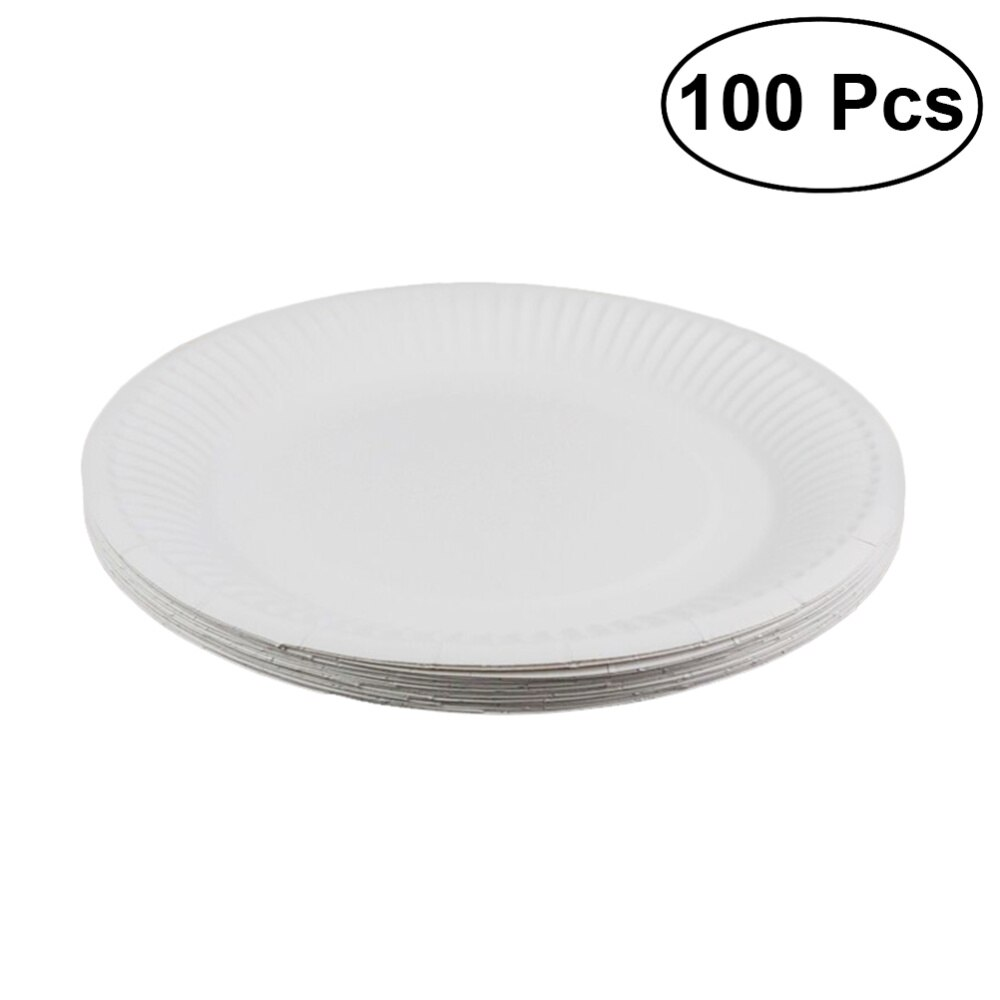 Dinner Plates Party Supplies Round Plates Paper Plates Classic White Round All Occasion Disposable Paper Dinner Plates Party Supplies White Dinnerware Tool